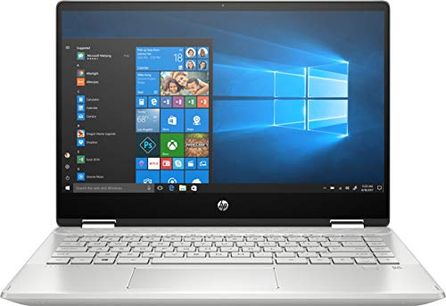 HP Pavilion x360 Táctil – 14-dh1012ns – Ordenador portátil de 14″ FullHD Convertible (Intel Core i5-10210U, 8GB RAM, 512GB SSD, Intel Graphics UHD, Windows 10 Home 64) Plata – teclado QWERTY Español