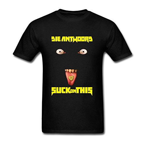 SUNRAIN-Mens-Die-Antwoord-Suck-On-This-T-Shirt