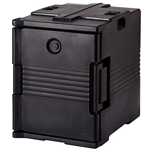 (Cambro UPC400110 Black Front Loading Ultra Pan Carrier )