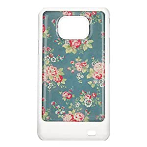 Peony Pattern Protective Hard Back Case Cover for Samsung Galaxy S2 I9100