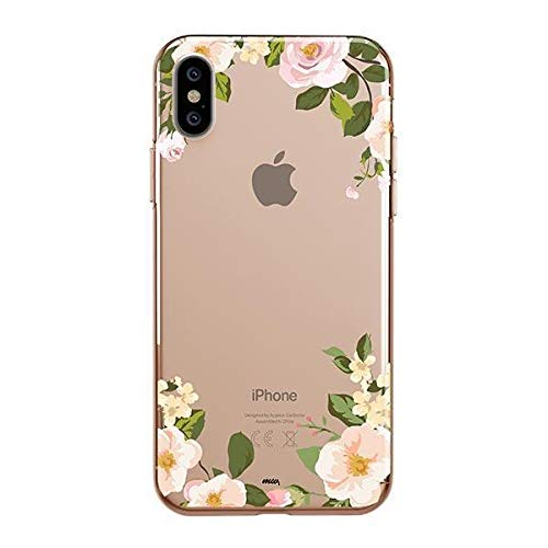 (Milkyway Clear Case Compatible with iPhone Xs MAX Clear Case Design Protective Back Case Cover for Apple iPhone Xs MAX [Supports Wireless Charging] - Dino)