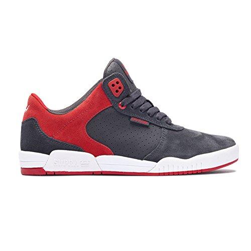 Supra Basse Grey Sneaker Ellington Uomo Dark z1Brzq7