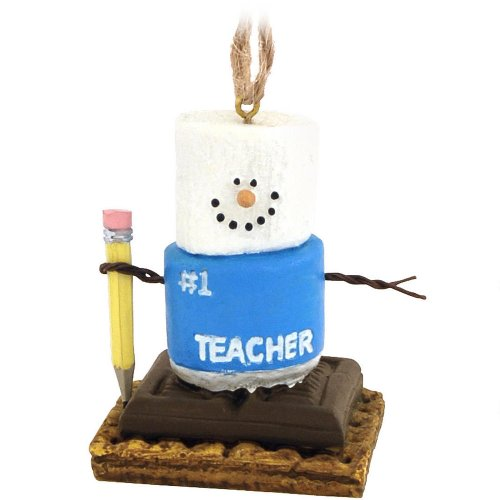 Cannon Falls Smores (S'mores Number 1 Teacher Christmas Ornament by Midwest-CBK)