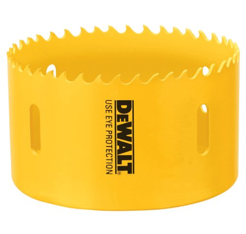 DEWALT D180056 3-1/2-Inch Standard Bi-Metal Hole Saw ()