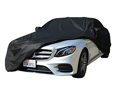 Custom Boxter Cayman Car Cover - Breathable, Indoor and Outdoor Automotive Accessories - Dust, UV Ray, Mist, Vehicle Protection - Full Semi-Custom Fit - Elastic Hem and Bonus Storage Bag (black) (Best Car Cover For Indoor Storage)