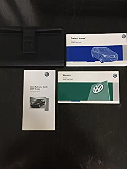 2009 volkswagen vw routan owners manual guide book amazon com books rh amazon com vw routan owners manual pdf vw routan owners manual pdf