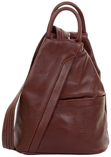 sac supérieure à à Mi sac étui Italienne dos marque Marron protecteur à dos douce sac Napa nbsp;Comprend bandoulière cuir poignée pz8qI