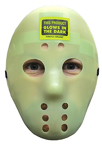 Hockey Mask Glow Halloween Costume - Most Adults