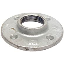 PANNEXT FITTINGS G-FLF07 Galvanized Floor Flange, 3/4""