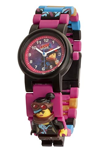 LEGO Watches and Clocks Girl's 'LEGO Movie 2 Wyldstyle' Quartz Plastic Watch, Color:Pink (Model: 8021452)