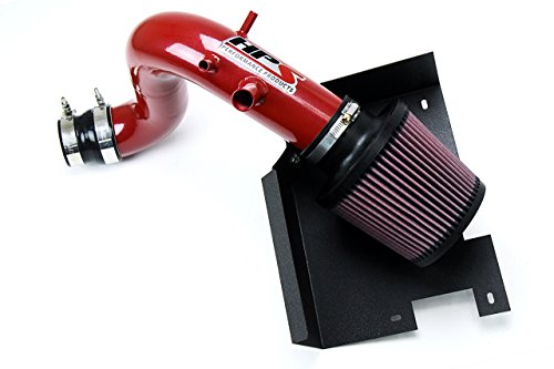 Red Hyundai Sonata (11-14 Hyundai Sonata 2.0L Turbo HPS Red Shortram Air Intake + Heat Shield Short Ram)