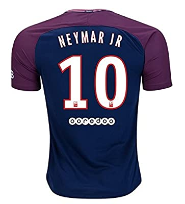 GIS Neymar 10 PSG Season 17/18 Soccer Jersey Mens Color Blue Size M