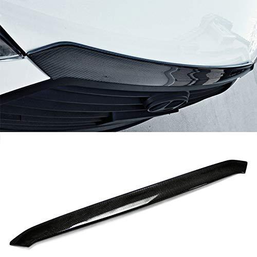 Carbon Fiber For HYUNDAI Veloster All Model Hood Lip Bug Deflector