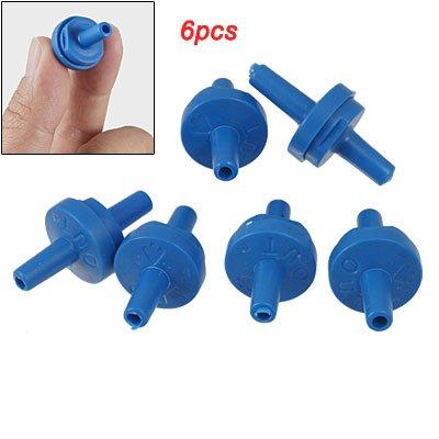 UPC 610256389783, Jardin Plastic Aquarium Tank Air Pump Blue Check Valves, 6-Piece
