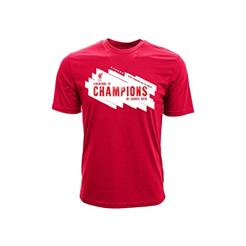 Liverpool - Champions of Europe 2019 T-Shirt (X-Large)