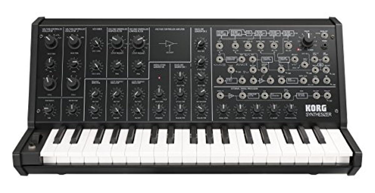 [해외] KORG 아날로그 모노포닉 신디사이저 MS-20 MINI MIDI IN/USB단자 탑재 패치 케이블 부속