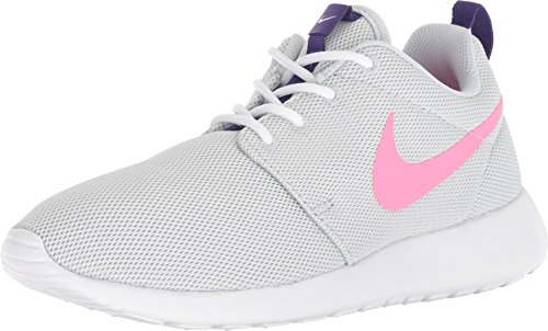 (Nike Roshe One Women's Shoes Pure Platinum/Laser Pink 844994-007 (9.5 B(M) US))