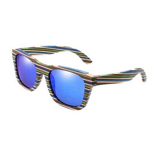 Proteggere Gli Uv Magideal Da Uomo Blu Donna Sole Occhiali Occhi 4AL5Rj