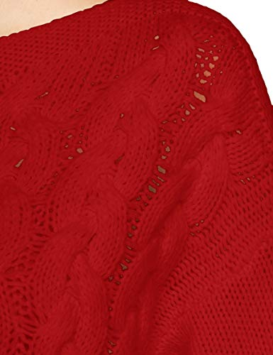 Jersey Sweater Benetton Colors Of United 015 Mujer s red L Rojo Para qTtY1