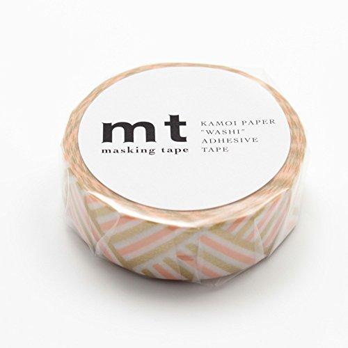 """MT Patterns Washi Paper Masking Tape, 3/5"""" x 33"""