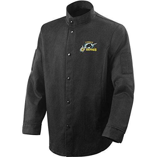 Steiner 1360-2X 30-Inch CF-Series Jacket, Black Carbonized Fiber, 2X-Large