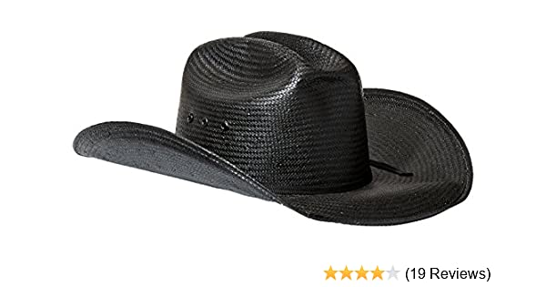 24764cd0488ff Bullhide Mc Graw - Shapeable Panama Straw Cowboy Hat at Amazon Men s  Clothing store