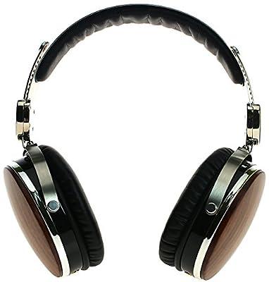 Symphonized Wraith Premium Genuine Wood Headphones with Mic