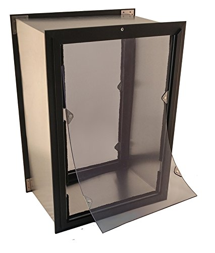American Dog Doors Liberator Wall Mount Pet Door - Dual Flap Model