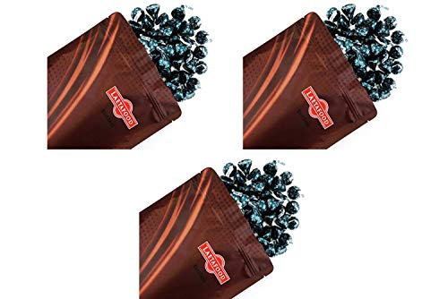 Kisses Hershey's Dark Chocolate with Mint Truffle, Mint Green Candy Foil 32 Ounces, (3 Pack)