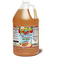 Dynamic Health Organic Cider Vinegar with Mother, Raw Apple, 128 Ounce