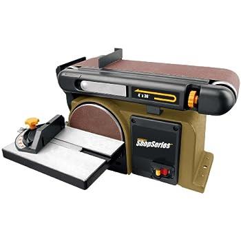 central machinery belt sander. rockwell rk7866 belt disc sander central machinery