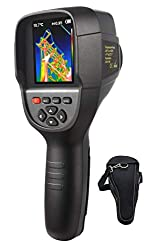 """220 x 160 IR Resolution Infrared Thermal Imager, Handheld 35200 Pixels Thermal Imaging Camera,Infrared Thermometer with 3.2"""" Color Display Screen(Battery Included)"""