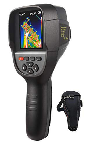 Pixel Resolution Camera - 220 x 160 IR Resolution Infrared Thermal Imager, Handheld 35200 Pixels Thermal Imaging Camera,Infrared Thermometer with 3.2
