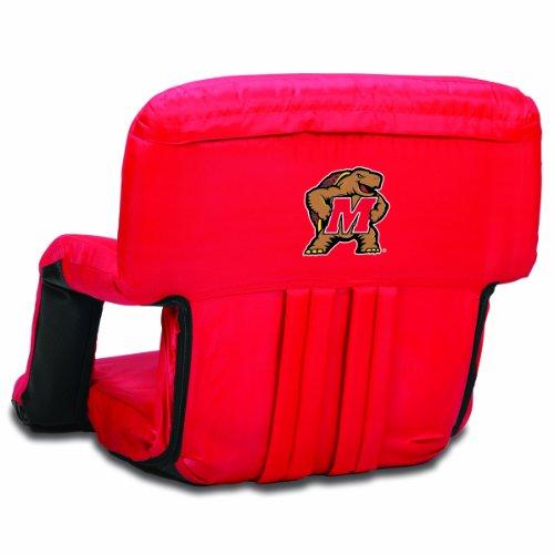 NCAA Maryland Terrapins Ventura Portable Reclining Seat, - Terrapins Backpack Maryland Team