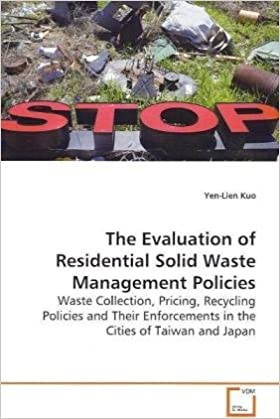 Amazon com: The Evaluation of Residential Solid Waste Management