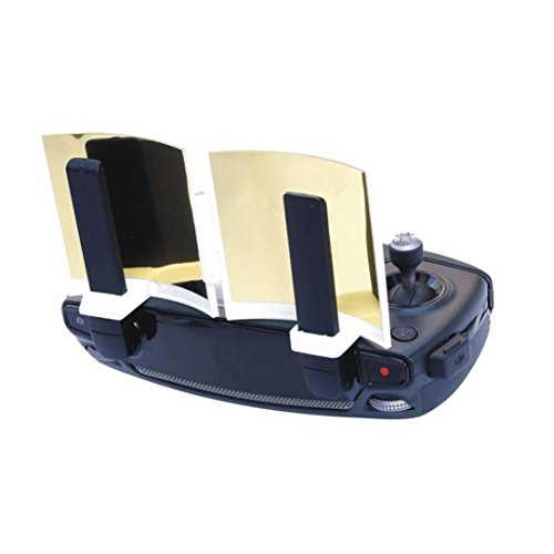 GBSELL Antenna Amplifier Wifi Signal Booster Range Extender for DJI Mavic Pro Remote (Gold)
