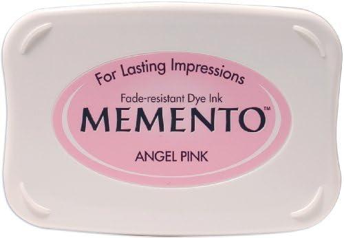 Tsukineko Memento Stempelkissen Engel, Synthetic Material, pink, 9.9 x 6.6 x 1.8 cm