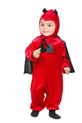 [Charades Costume - Daring Devil - 2T-4T] (Girl Devil Costumes)