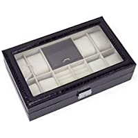 Jewelry Box Watch Box And Organizers-black