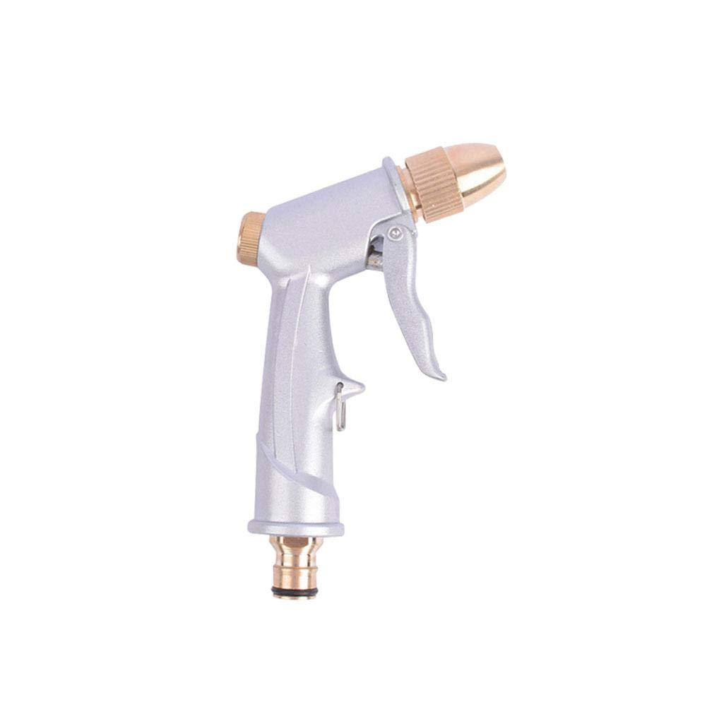 Keng regolabile in metallo rame tubo ugello pistola a pressione acqua tubo da giardino pistole per irrigazione giardino//Cars veicoli lavaggio