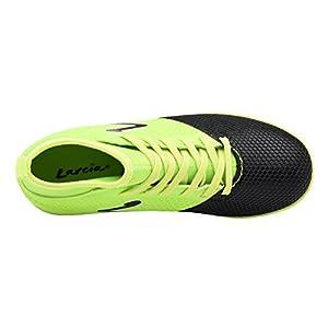 Larcia Kids' Verde Indoor Soccer Shoe Green Black 6 M US Big Kid