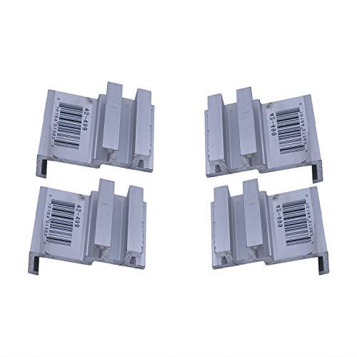 - Tonno Pro 42-499 Utility Track Installation Bracket Kit for Tonno Fold or Hard Fold for 05-15 Nissan Frontier