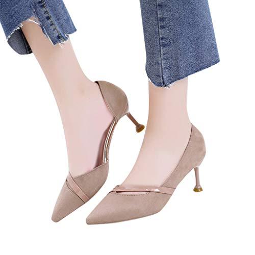 Overmal High Bout Escarpins Soiree Heels Mariage A Chaussures Beige Cuir Verni Mode Classics Sandales Carré Classique Sexy Femme Haut Enfiler Rond Bow Talon Pu rIOqr5wf