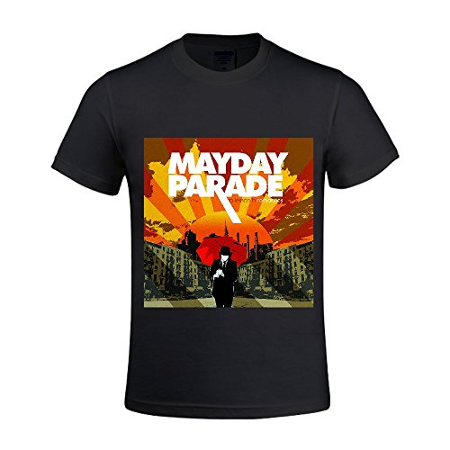 mayday-parade-a-lesson-in-romantics-men-t-shirts-crew-neck-sport-black