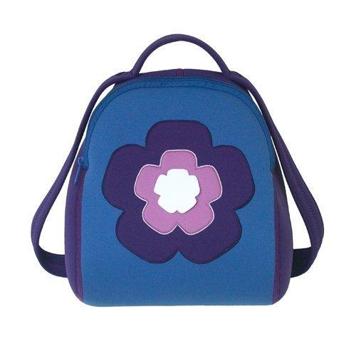 Dabbawalla Bags Flower Power Kids' Toddler & Preschool Backpack Purple/Pink by Dabbawalla