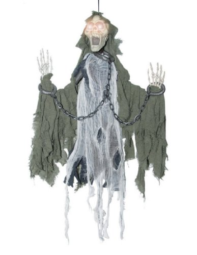 [Costumes for all Occasions SS84156 Animated Reaper In Chains] (Hanging Slashing Zombie)