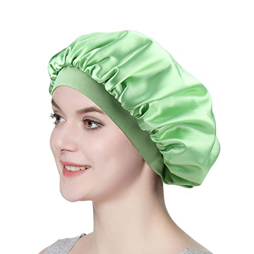 Hair Sleeping Bonnet Wraps for Women Satin Cap for Locs