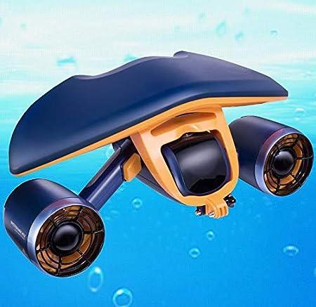 Y-seawater Surf Bajo Agua Scooter, Piscina Scooter Moto Subacuática Agua Motorcycyle para Nadar, Bucear, Practicar Deportes Acuáticos, Juguetes De Playa.