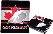 Team Canada Soft Throw Blanket