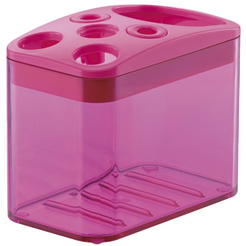 Richell Ha Yule tooth brush stand Pink 33 508 (japan import)